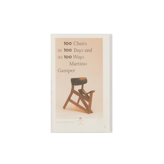 100CHAIRS IN 100 DAYS AND ITS 100WAYS POKET SIZE