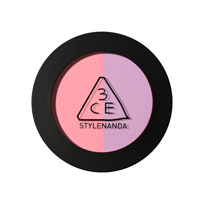 3CE DUO COLOR FACE BLUSH #CREME DE VIOLETTE