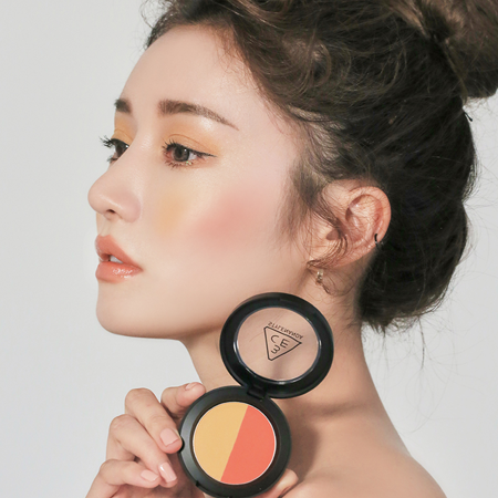 3CE DUO COLOR FACE BLUSH #RETRO DRIVE