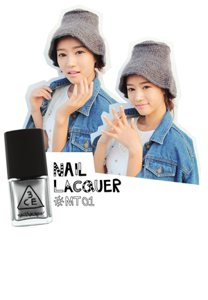 3CE NAIL LACQUER METAL