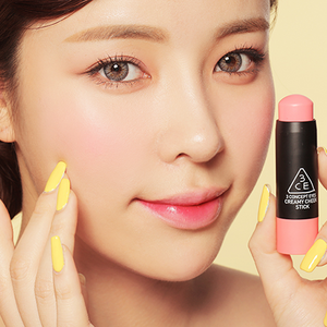 3CE CREAMY CHEEK STICK-#PINK FACTORY