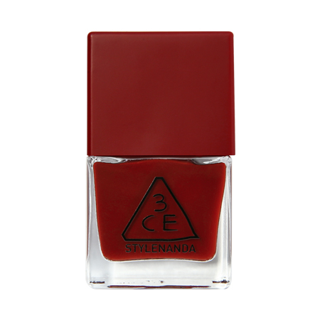3CE RED RECIPE LONG LASTING NAIL LACQUER #RD09