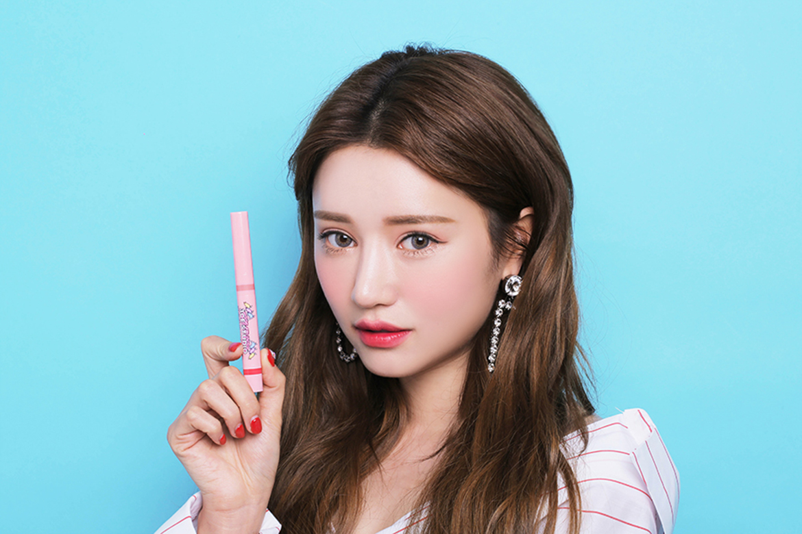 3CE STUDIO VELVET CREAM LIP & PENCIL #CHAPTER PINK