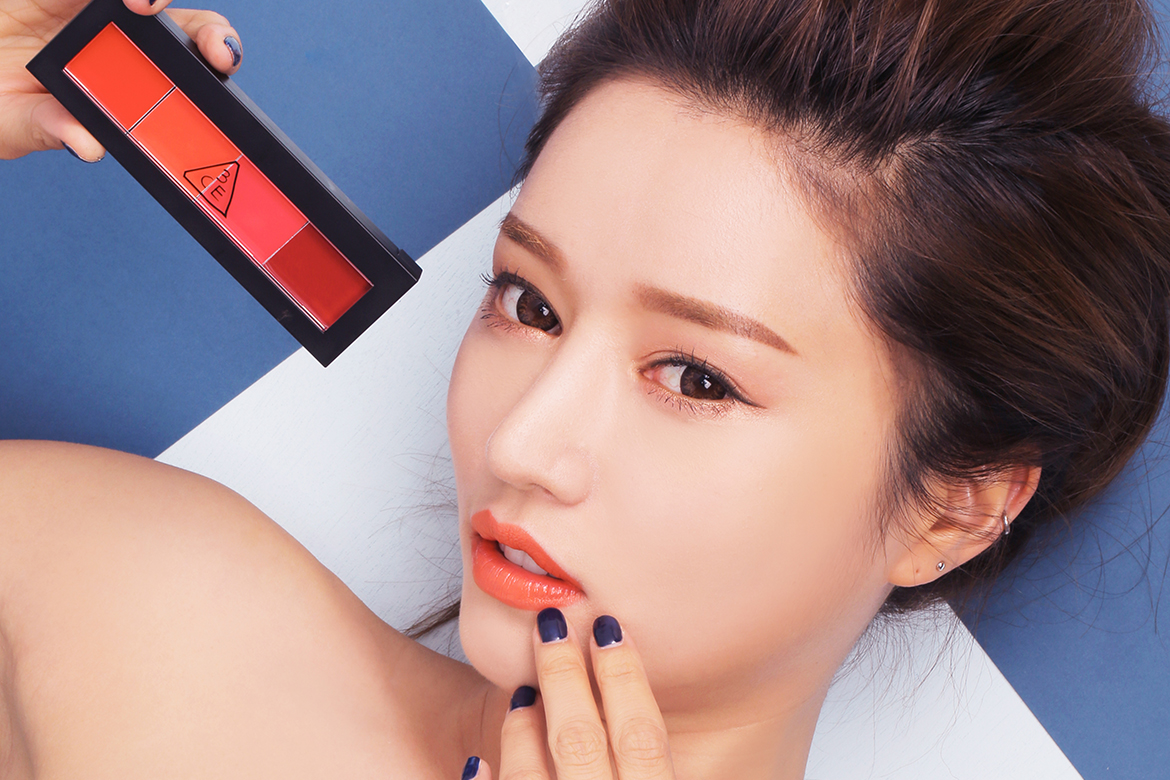 3CE 2015'S LIP COLOR PALETTE #GOSSIP RED