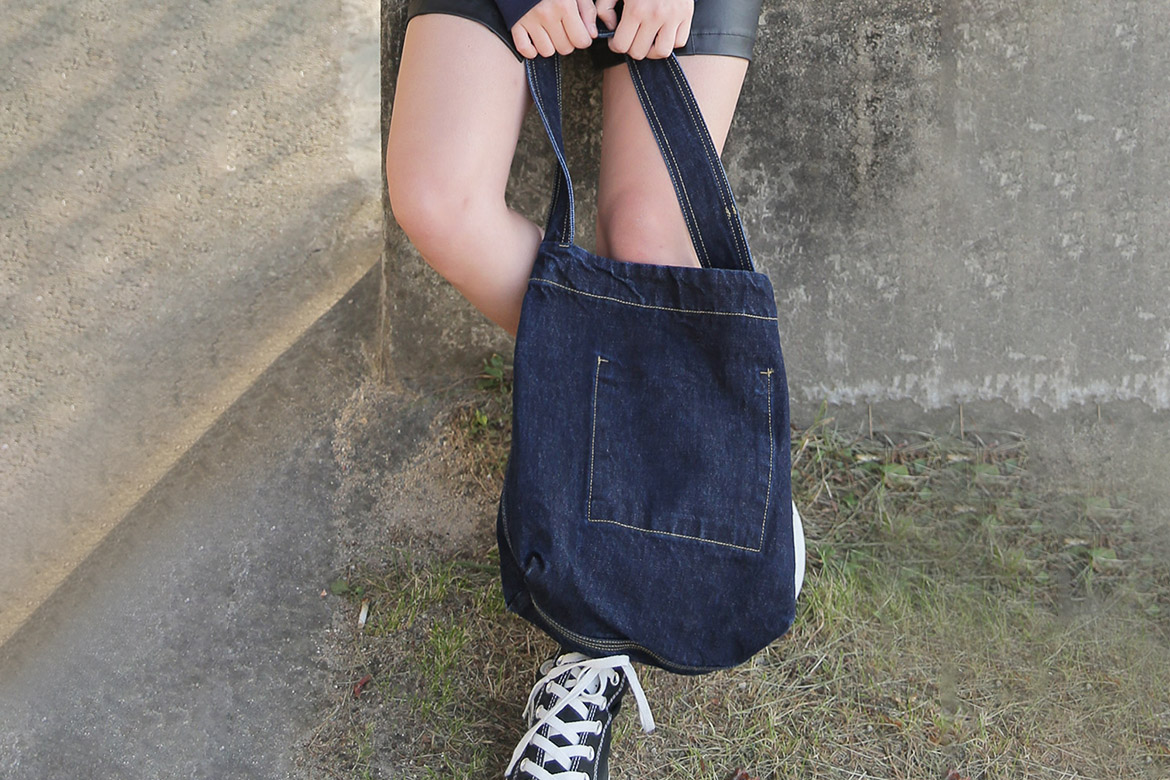 DENIM STITCH BAG