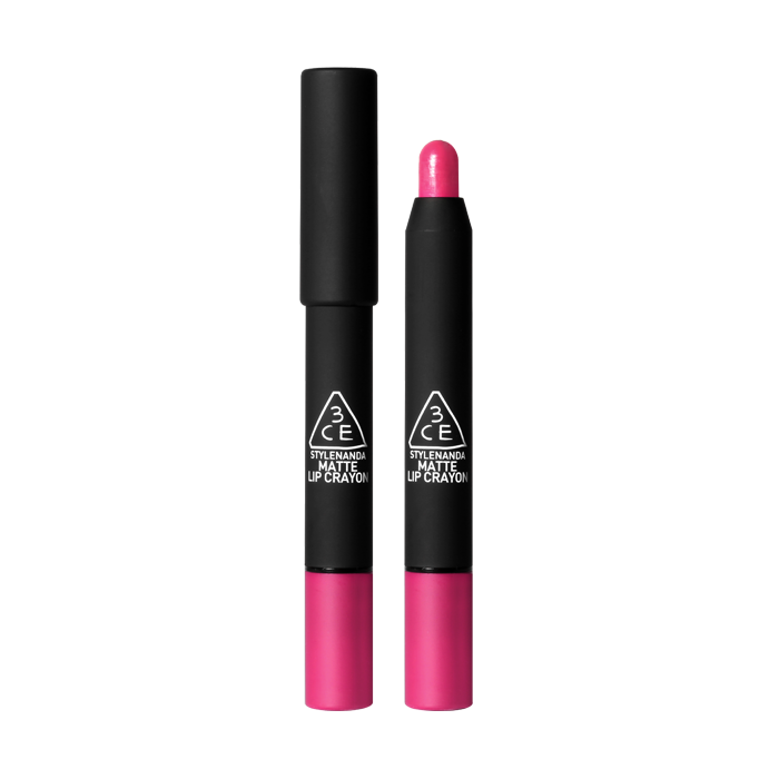 3CE MATTE LIP CRAYON-#TERRIFIC