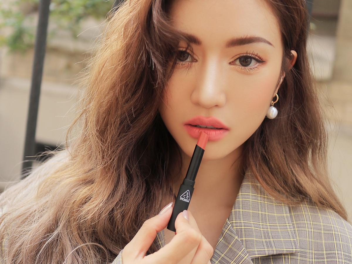 3CE SLIM VELVET LIP COLOR #MELLOW PEACH