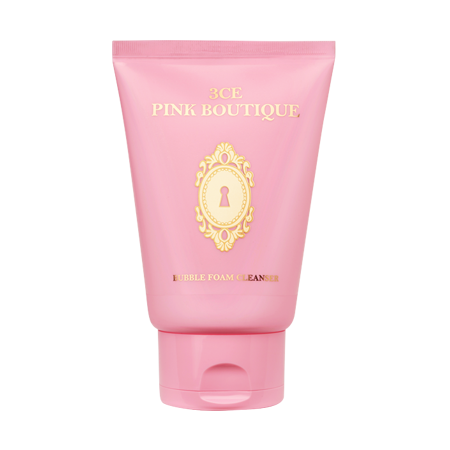 3CE PINK BOUTIQUE BUBBLE FOAM CLEANSER