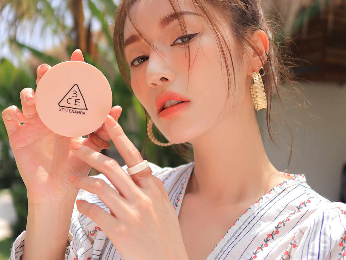 3CE GLOW SKIN CUSHION PINK