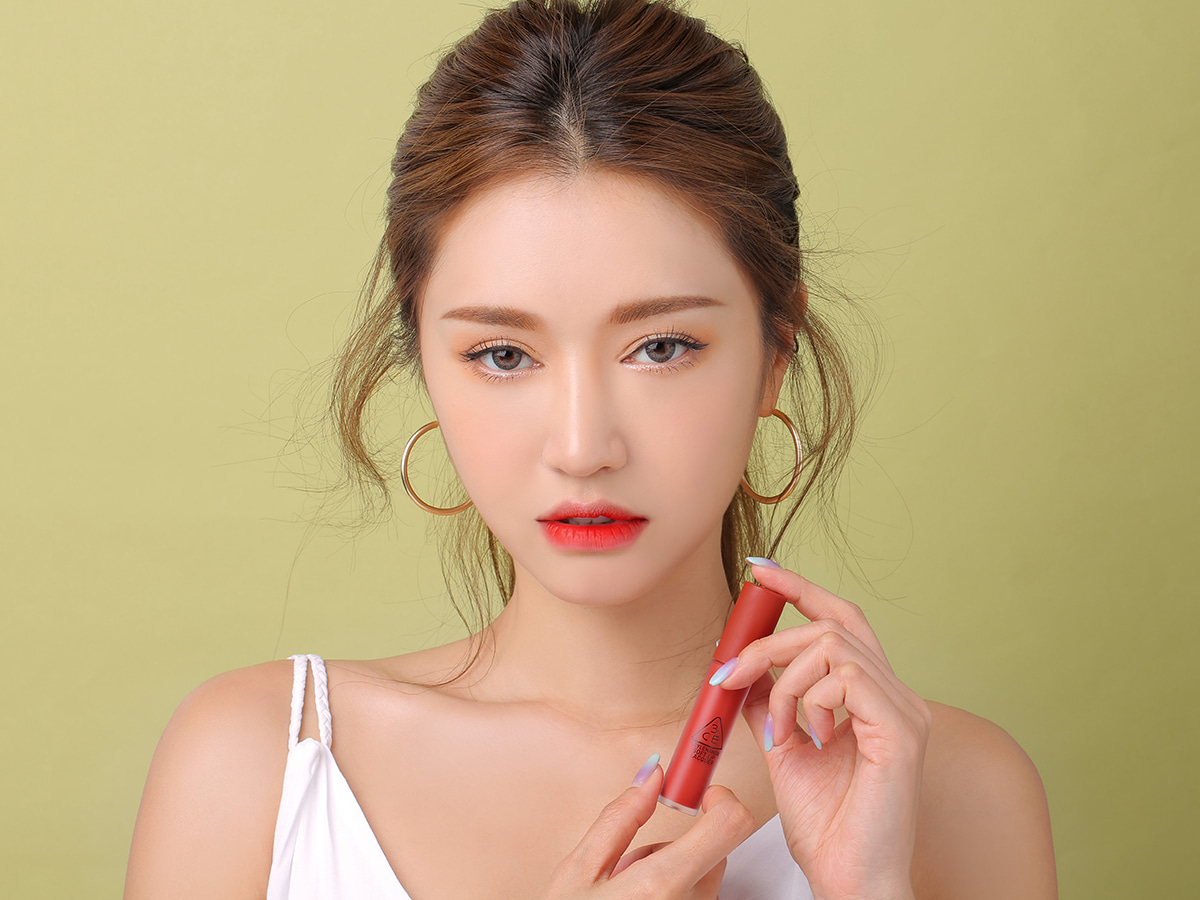 3CE SOFT LIP LACQUER #ORDINARY RED
