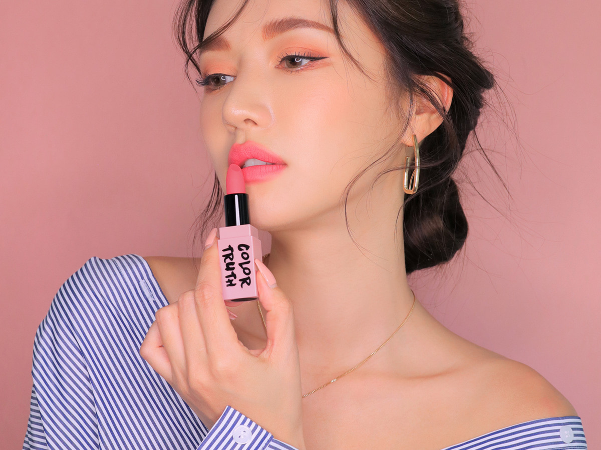 [DANGEROUS MATTE] 3CE PINK RUMOUR LIP COLOR #809 TELL THE TRUTH