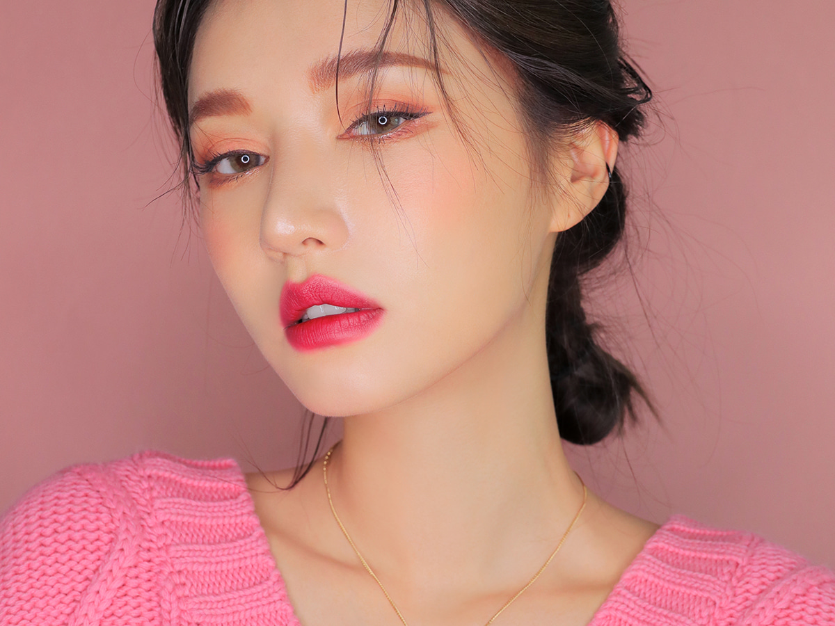 [DANGEROUS MATTE] 3CE PINK RUMOUR LIP COLOR #808 SPOTTED