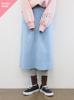 WOOLEN STITCH LONG_SB