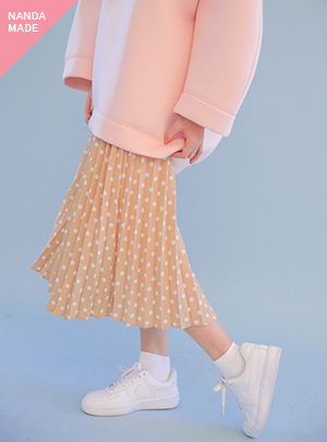 DOT LIGHT PLEATS SK_BE