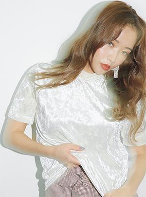 벨벳터치 원포인트 티셔츠