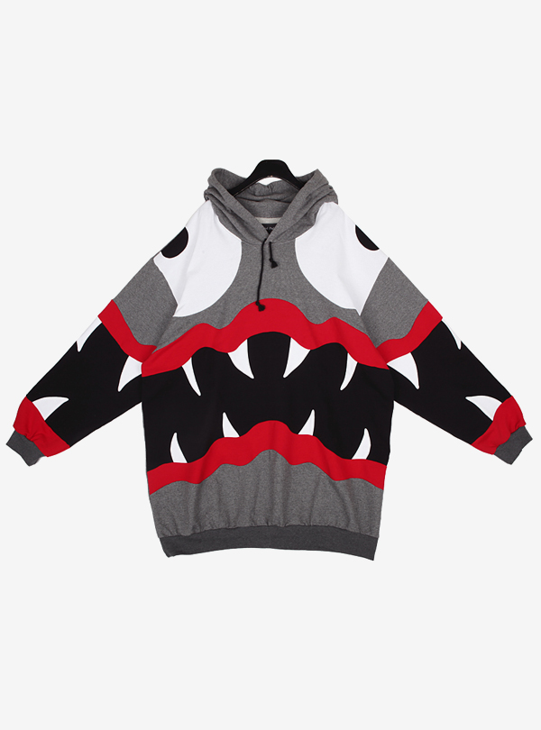 SCREAMING MONSTER HOODIE