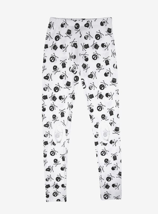 FACES PRINT LEGGINGS-W